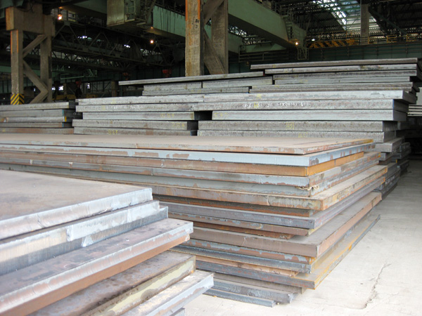 High strength steel plate